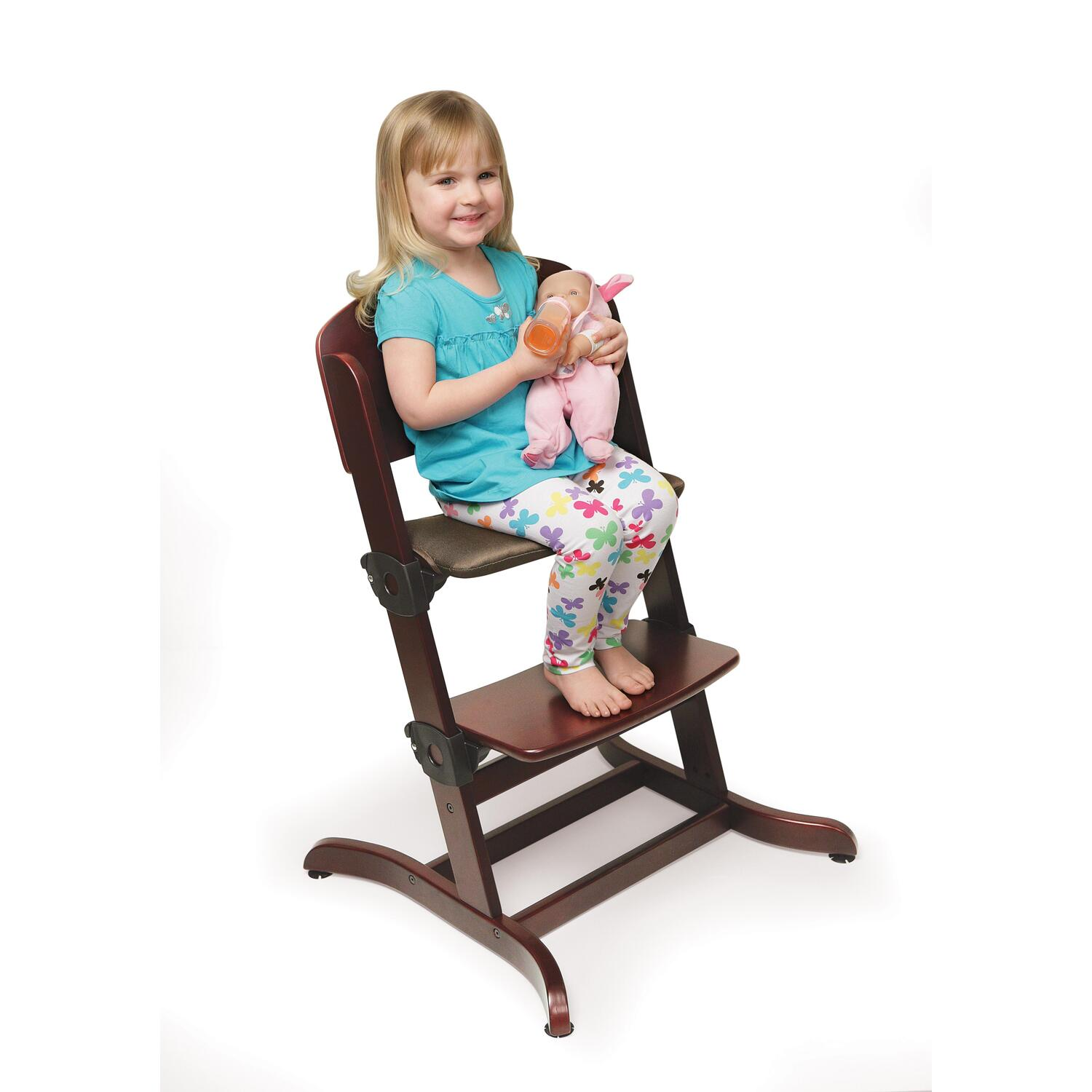 Badger High Chair Evolve Wood High Chair With Tray Ojcommerce