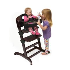 Badger Basket Evolve High Chair Value City Dining Table And Chairs Wood With Tray From 56 99 To 168
