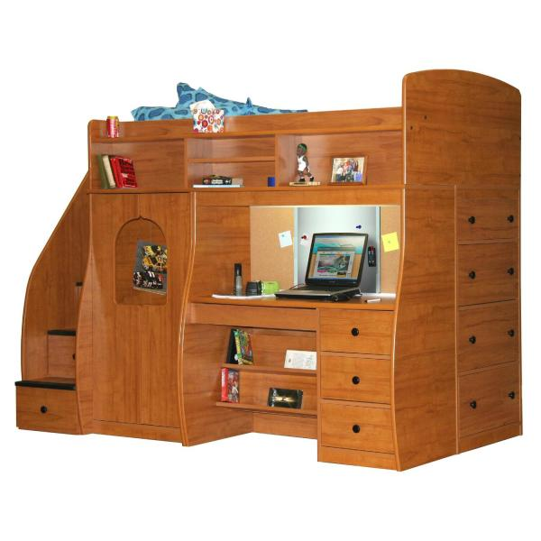 Berg Furniture Play and Study Loft Bed