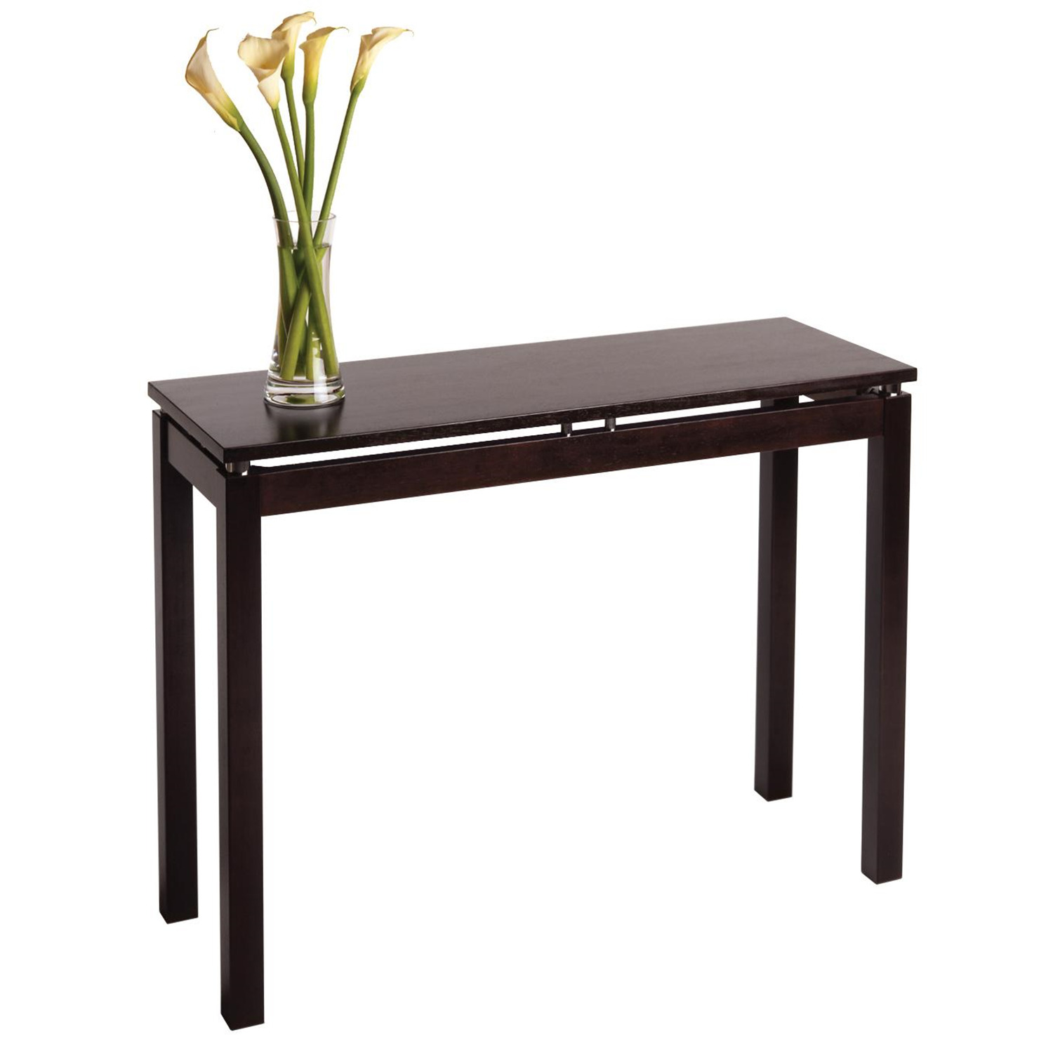 solid cherry sofa table ralph lauren sofas by henredon winsome wood linea console in