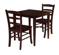 Groveland 3pc Square Dining Table with 2 Chairs - $328.99 ...