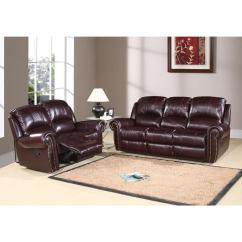 Abbyson Living Berkshire Italian Leather Sectional Sofa Room Colour Schemes With Grey Reclining And Loveseat