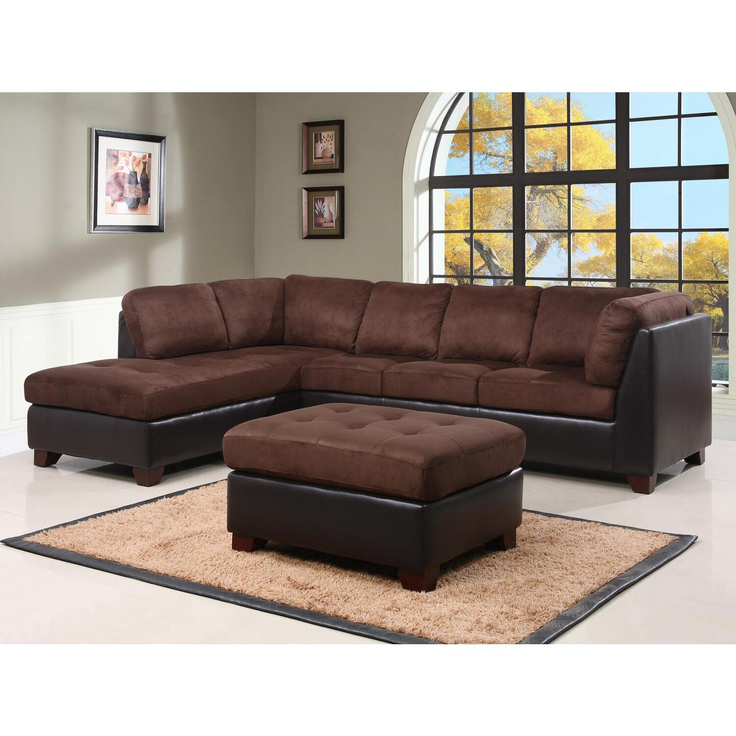 large sectional sofa with ottoman martha stewart pillows abbyson living and by oj commerce