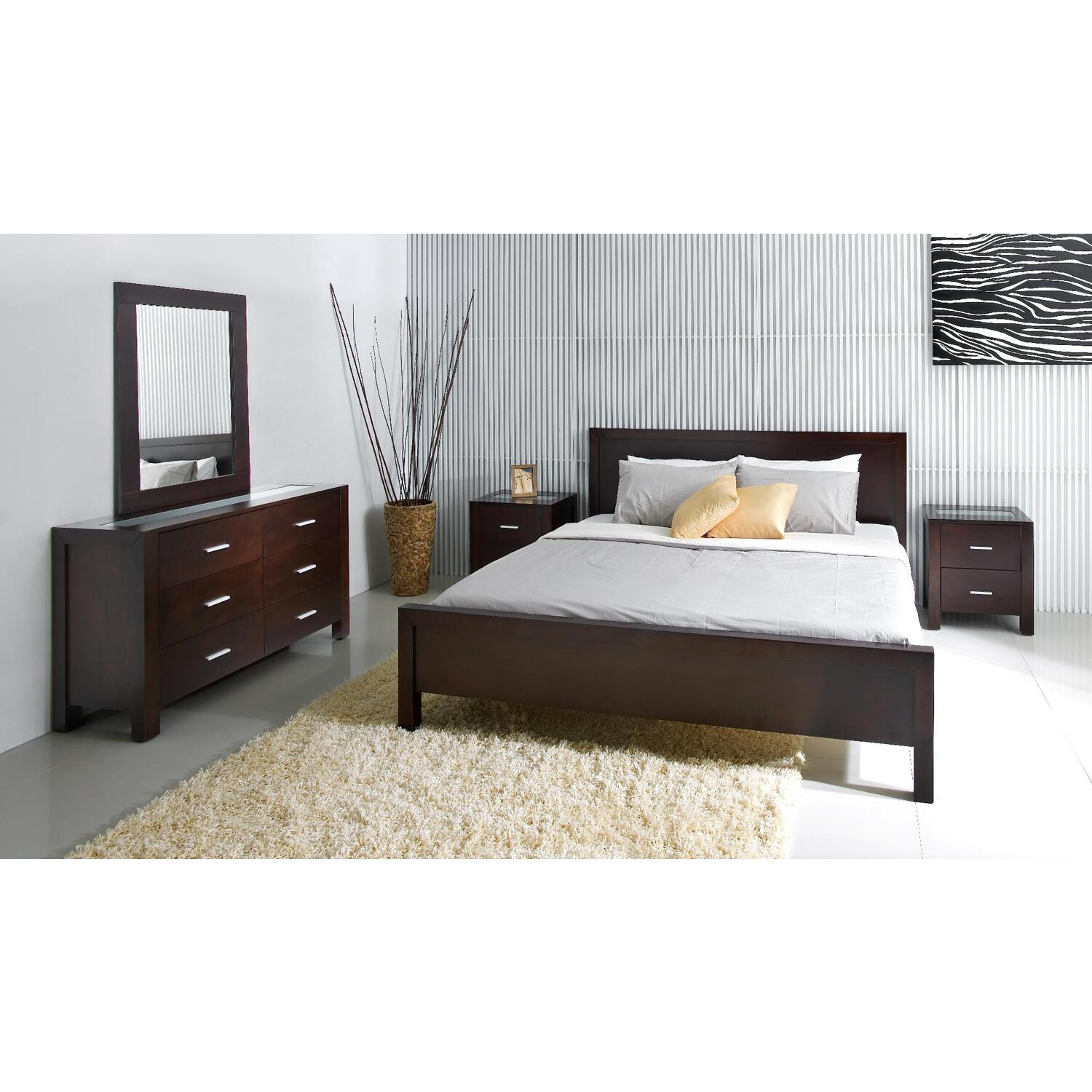 5PC CalKing Bedroom Set  OJCommerce