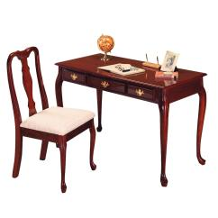 Desk Chair Home Office Wicker Circle Cherry And Set Ojcommerce