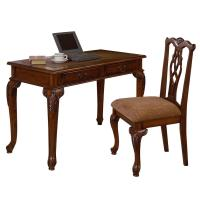 ORE International Fairfax Home Office Desk & Chair Set by