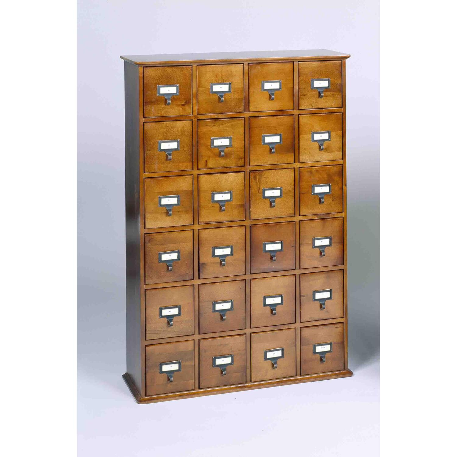 Leslie Dame Library Card File Multimedia Cabinet by OJ