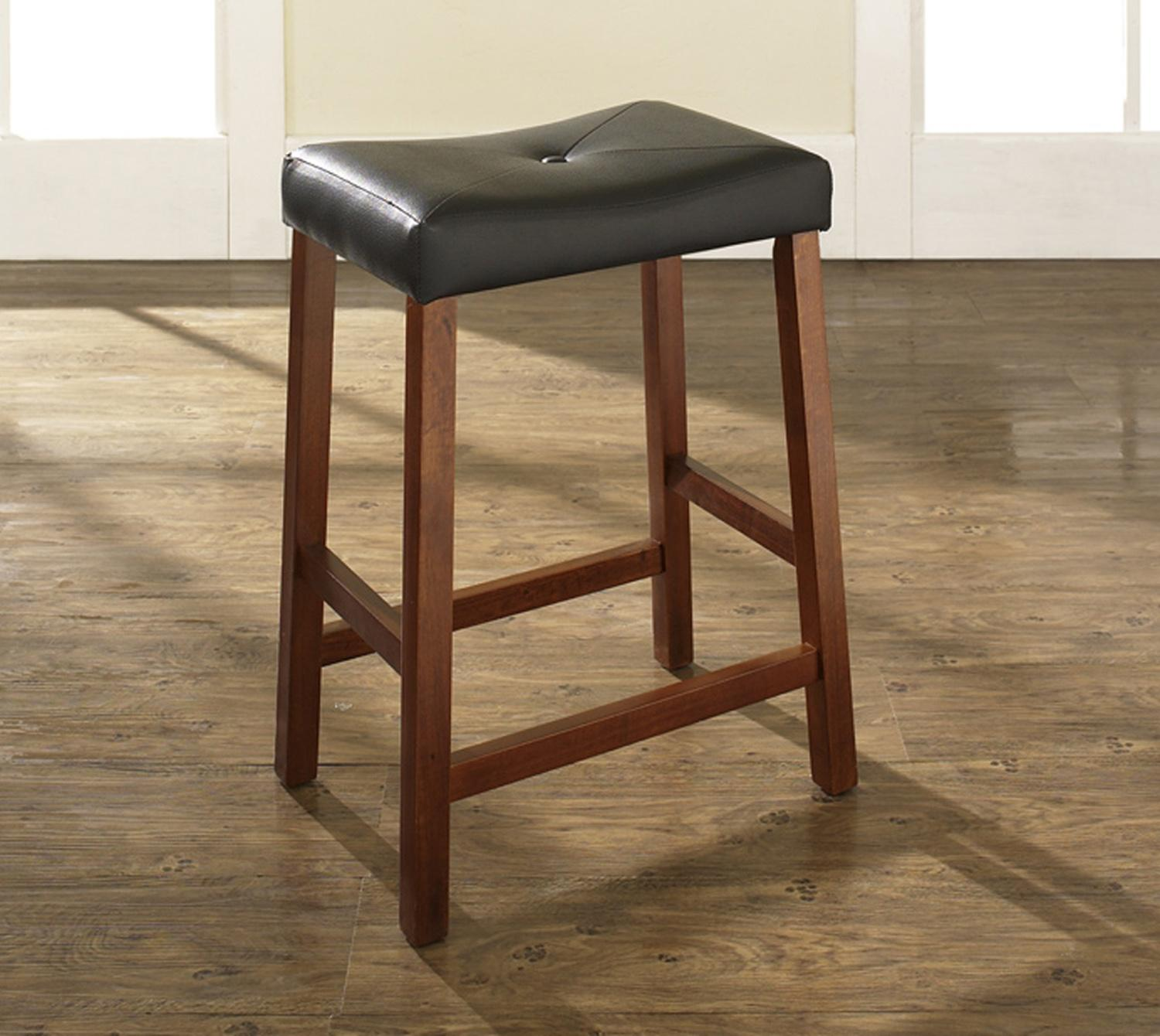 horse saddle seat chair comfortable gaming upholstered bar stool with 24 inch height