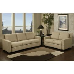 3 Seater Fabric Sofa Younger Furniture Sleeper Adler And Loveseat Set | Ojcommerce