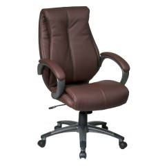 Office Star Eco Leather Chair Geologic Fishing Executive By Oj Commerce 299 99