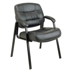 Office Chairs For Guests Gray Leather Chair Executive Visitors 229 99 Ojcommerce