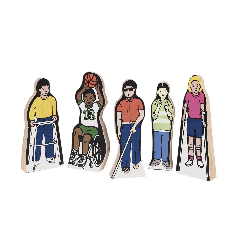 Special Needs Children Set Of 5