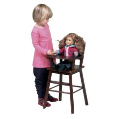 High Chair For Dolls Covers With Burlap Sashes Doll Ojcommerce