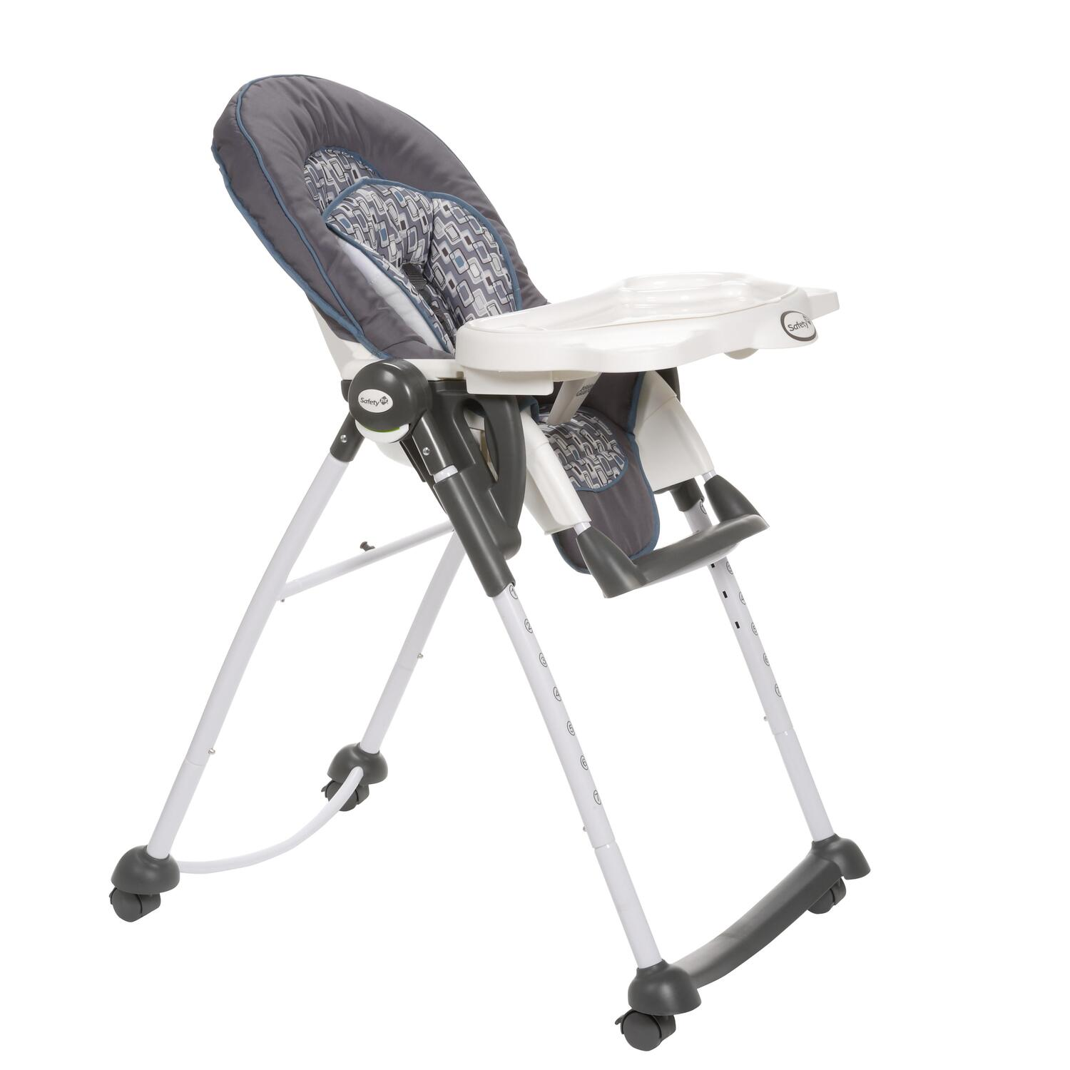 safety first folding table and chairs white directors australia 1st comfy seat high chair facet by oj