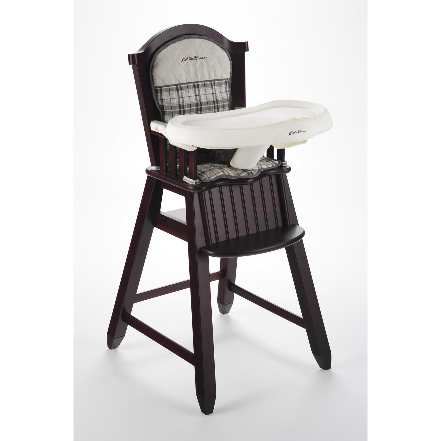 eddie bauer high chairs upholstered club classic chair stonewood by