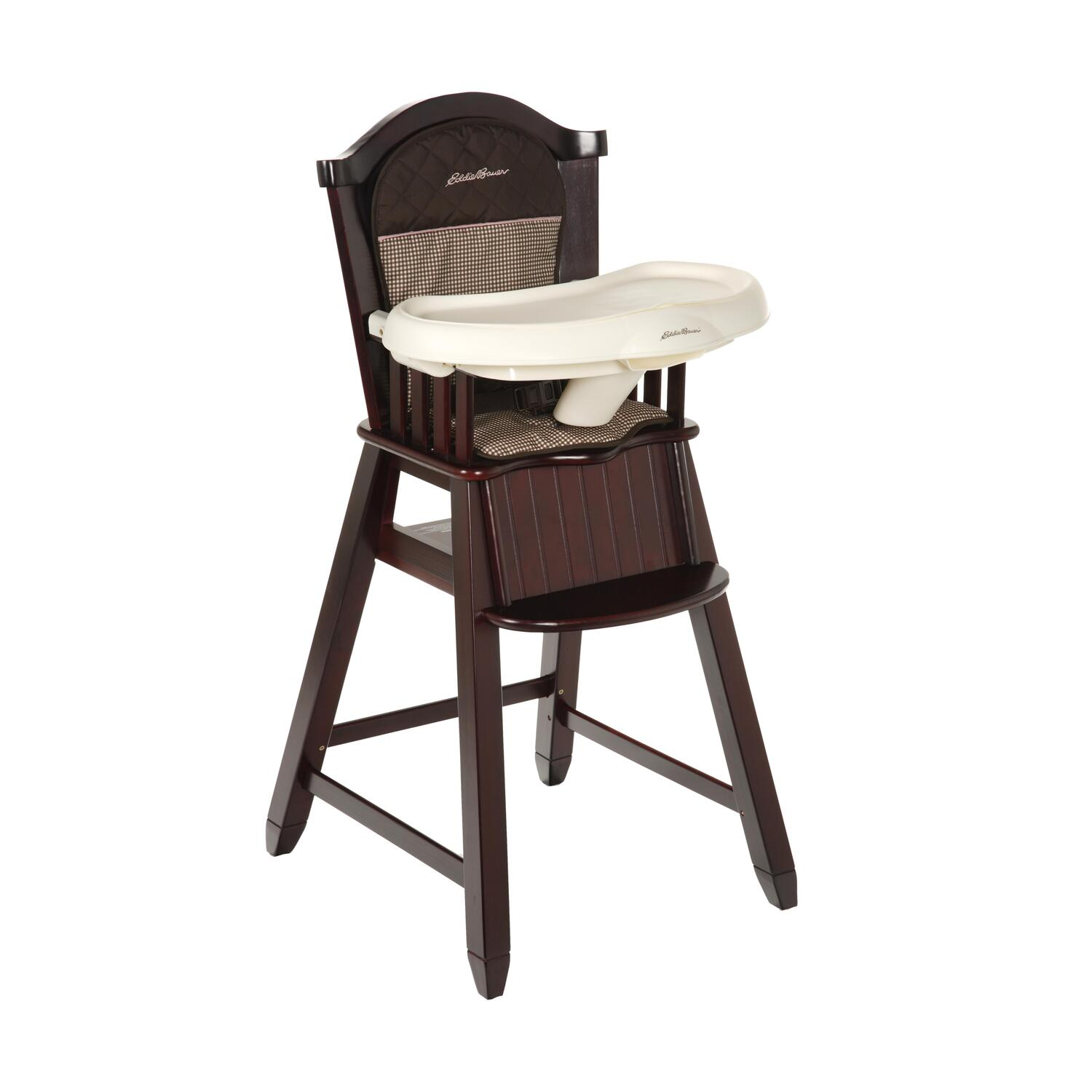 eddie bauer high chairs wooden swivel chair uk wood michelle by oj