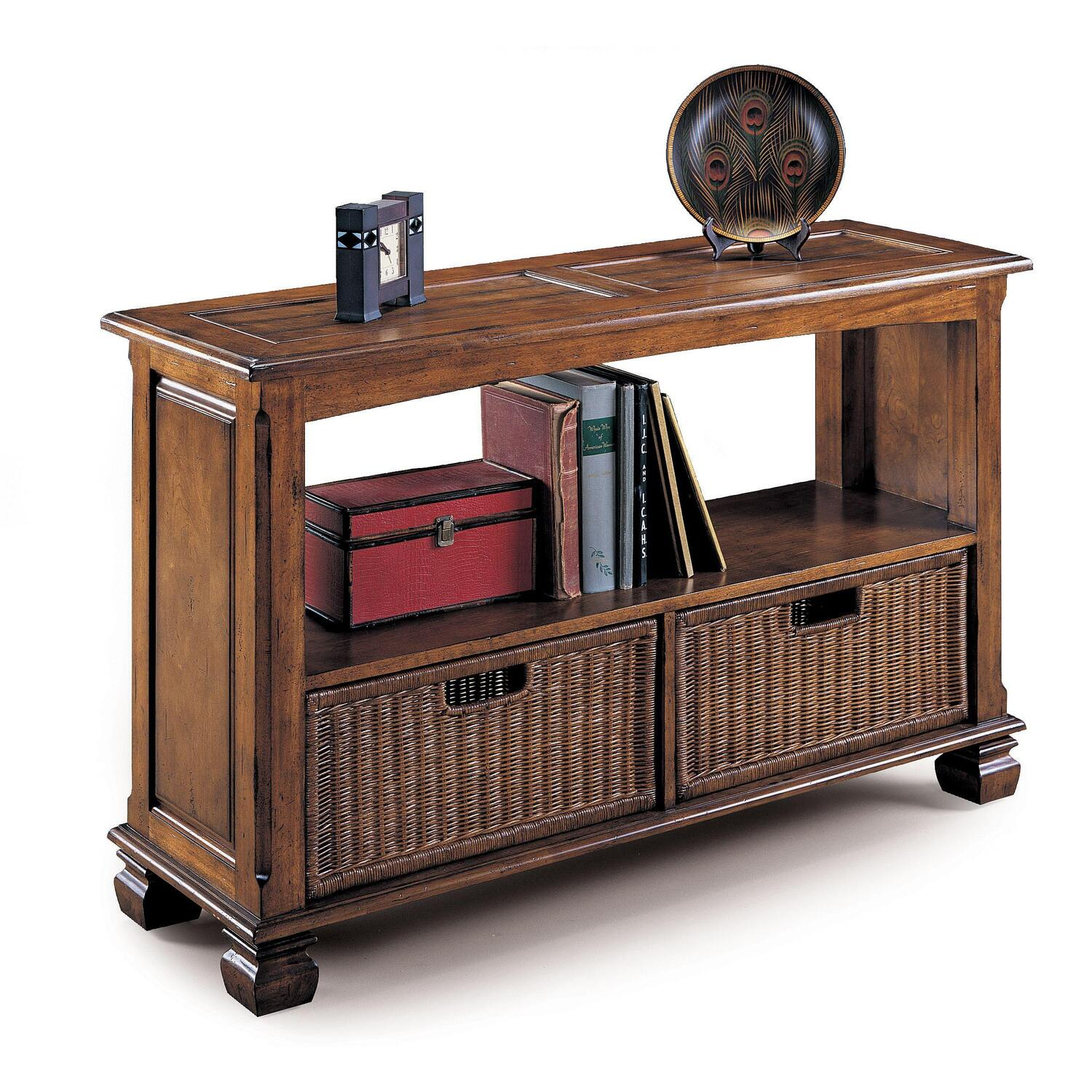 cherry sofa table with storage how can i clean my fabric naturally lane surrey baskets by oj commerce