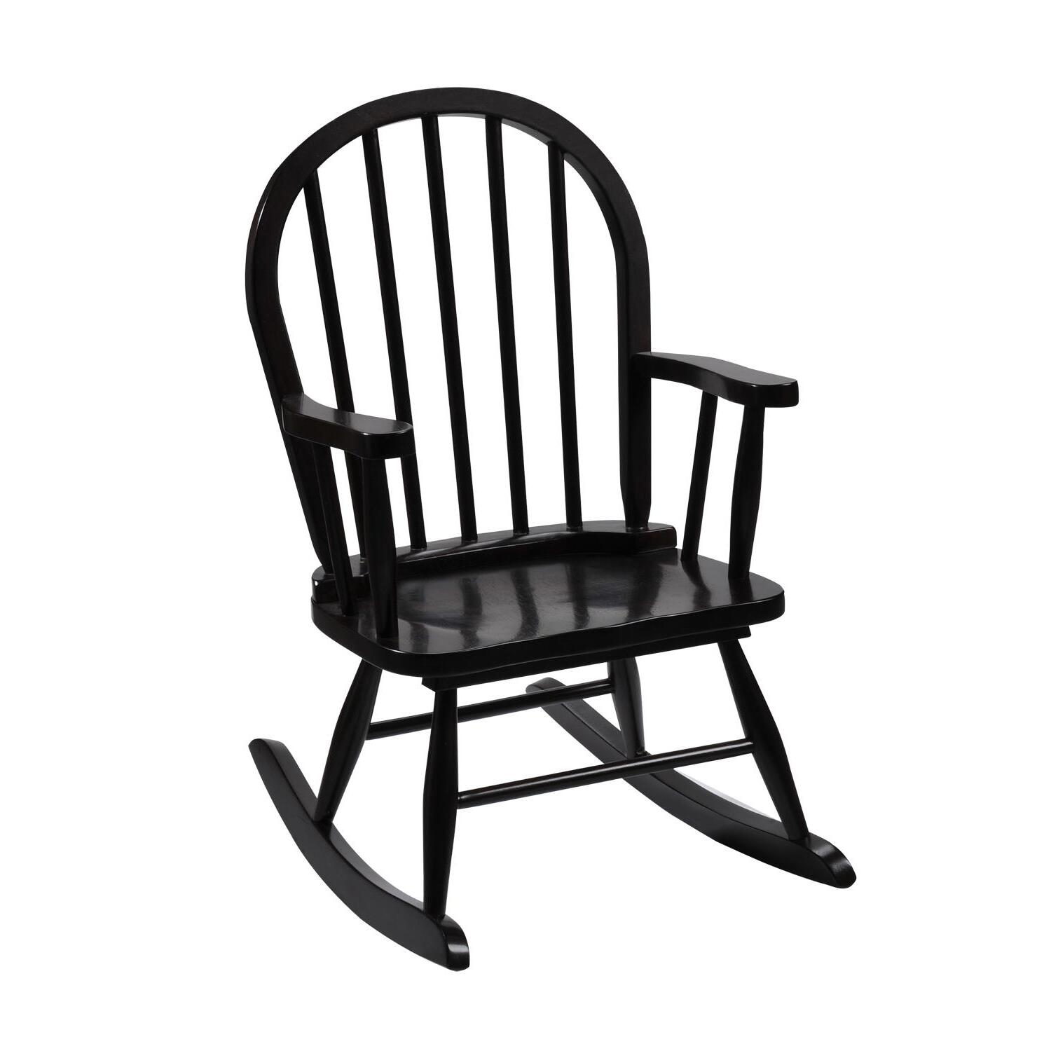 kids wooden rocking chair ergonomic sydney giftmark windsor childrens from 66 91 to
