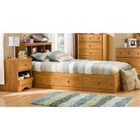 Kids Twin Wood Captain's Bed 3 Piece Bedroom Set in ...