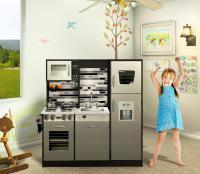 Wooden play kitchen set / Kids toy kitchen - Naomi Home ...