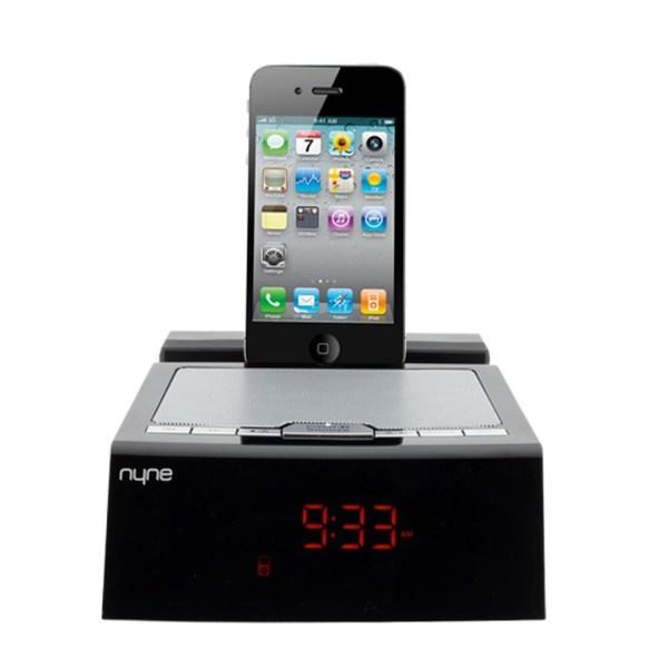 iPhone 5 Docking Station Alarm Clock