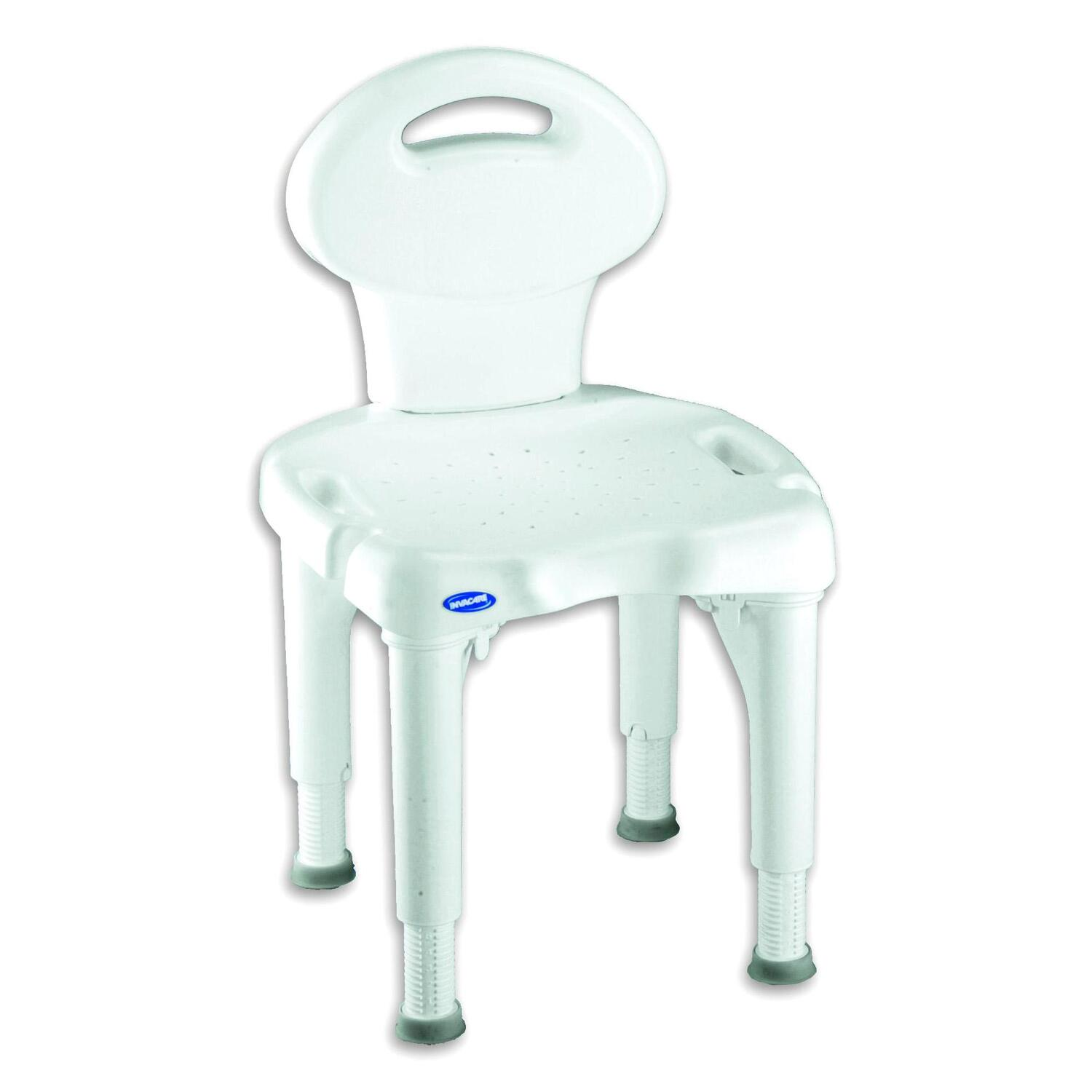 invacare shower chair reclining game with microban 34 09 74 30