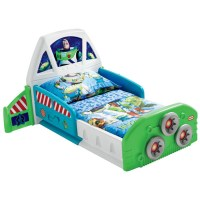 Little Tikes Buzz Lightyear Spaceship Toddler Bed by OJ ...