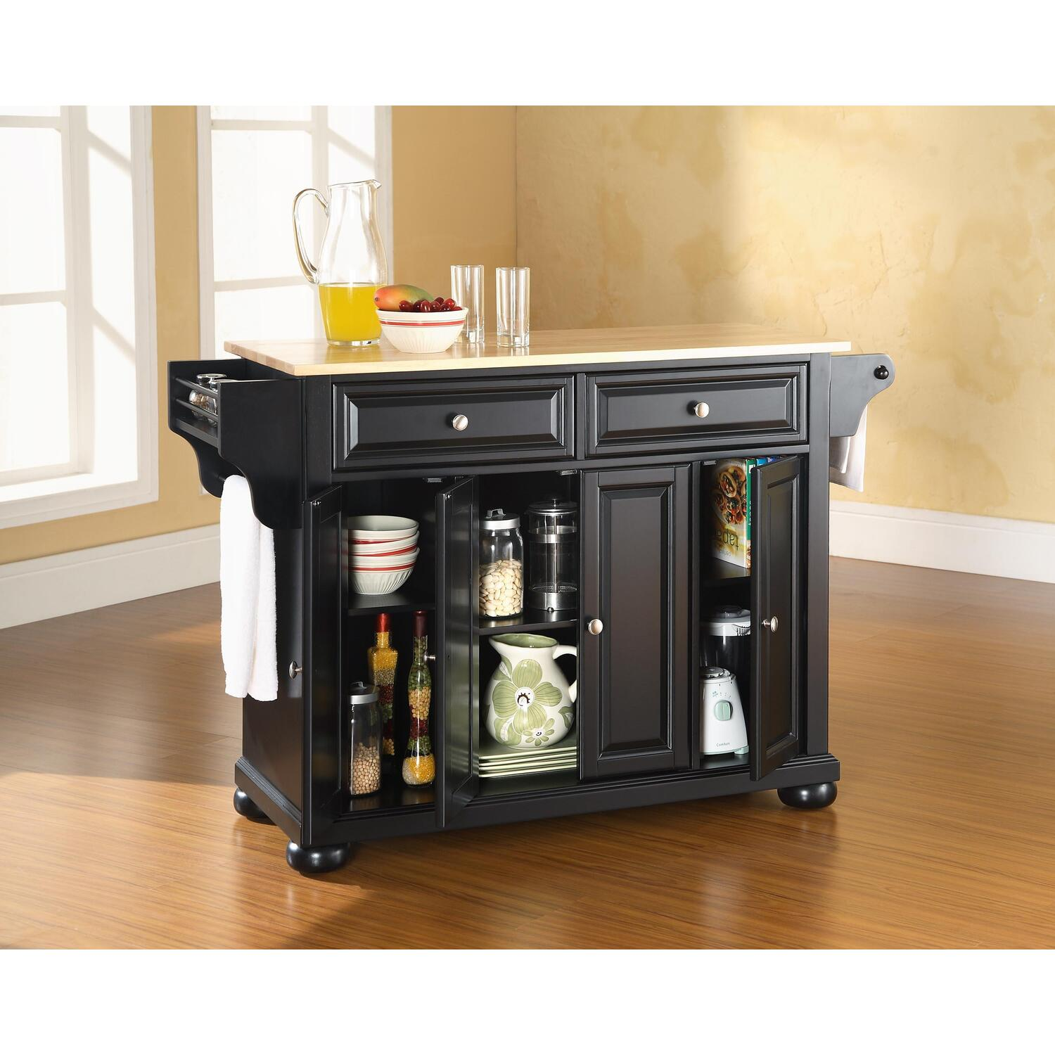 crosley kitchen island elegant curtains alexandria - from $389.00 to $541.99 ...