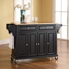 Granite Top Kitchen Cart Birkenstock Clogs Crosley Solid Black From 317 88 To Tap Expand