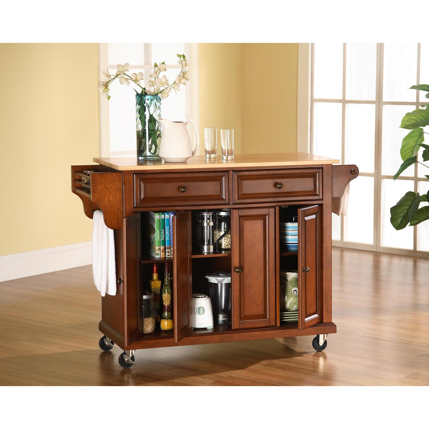 crosley kitchen island colors for kitchens solid black granite top cart from 317 88 to 534 99 ojcommerce