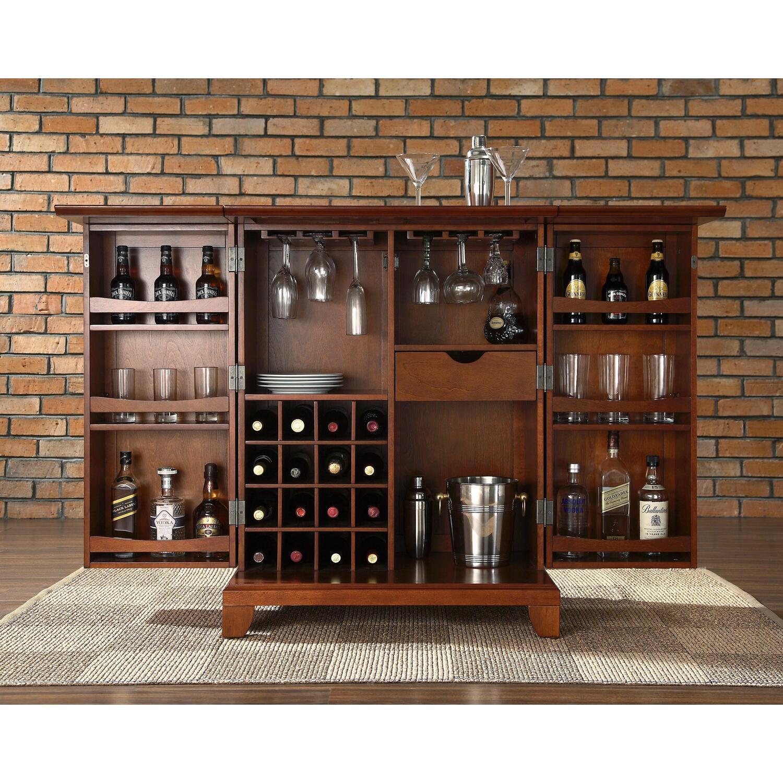 Newport Expandable Bar Cabinet  OJCommerce