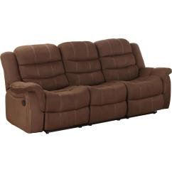 Double Recliner Sofa Cover Fold Out Bed Queen Homelegance Huxley Reclining By Oj Commerce