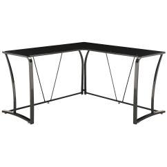 Steel Chair Bush Unusual Bedroom Metal And Glass L Desk 300 42 Ojcommerce