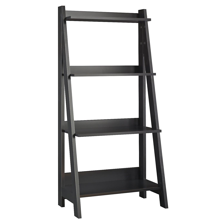 Bush Furniture Ladder Bookcase By Oj Commerce My72716 03
