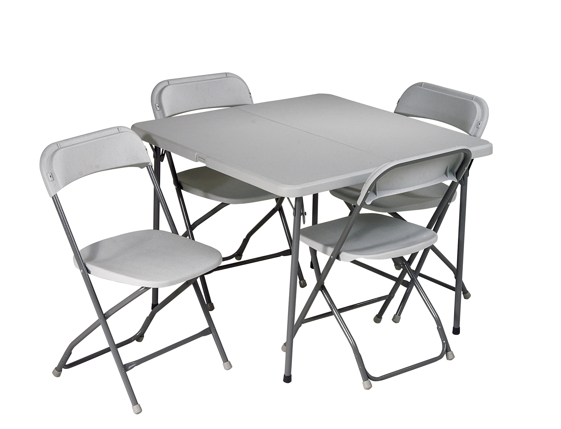 folding chair set modern vanity office star 5 piece table and by oj