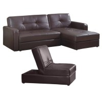 Leather Sofa Bed Set with Storage | OJCommerce