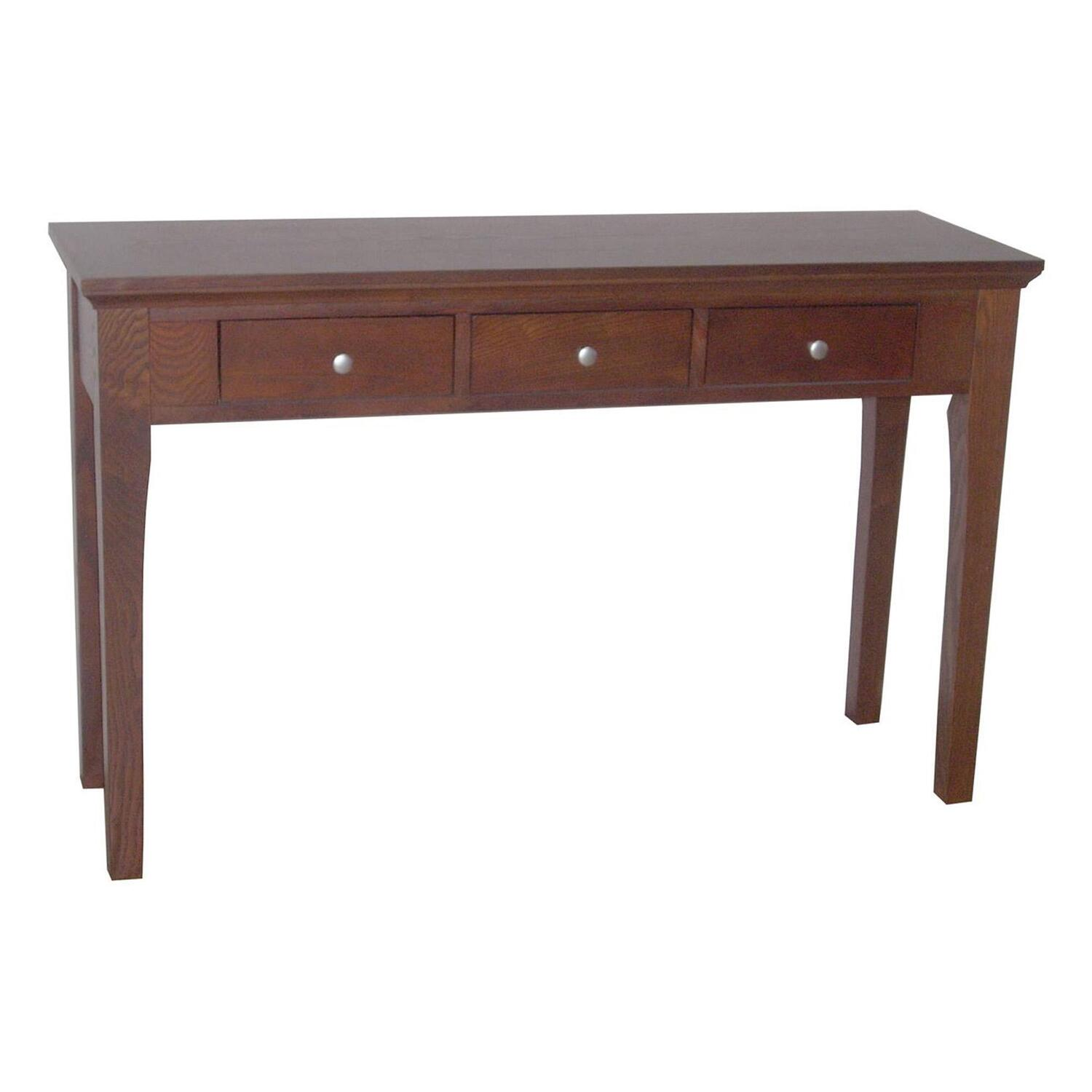 sofa tables and more leather cleaning liquid fraser console table 3 drawers ojcommerce