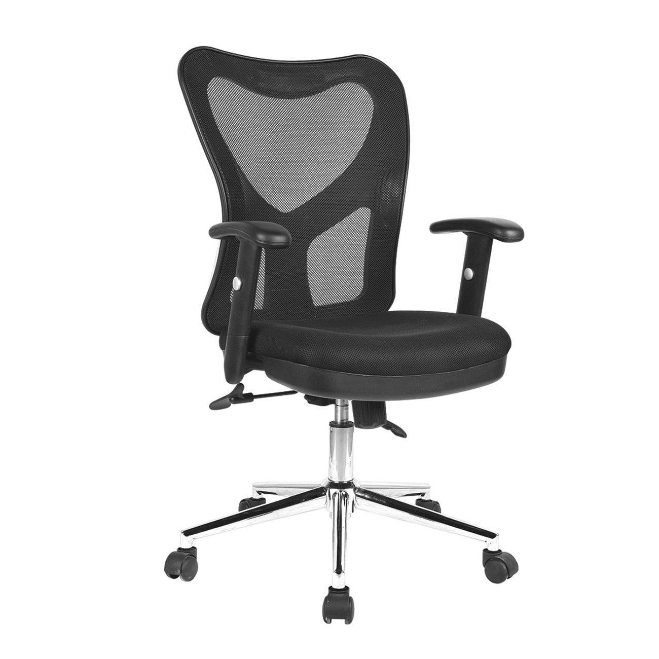 office chair base swivel ashley furniture techni mobili high back mesh with chrome