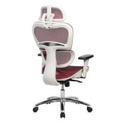 Office Chair Neck Support Kitchen Table And Chairs With Wheels Techni Mobili Deluxe High Back Mesh Executive