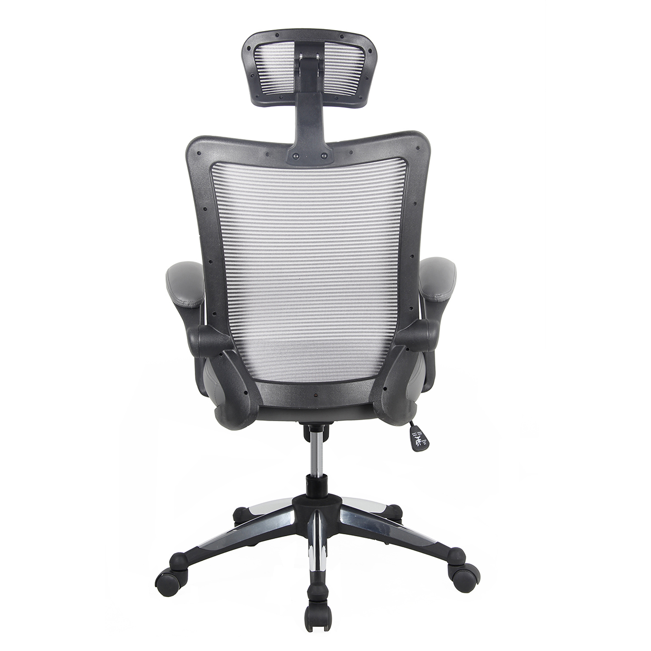 add headrest to office chair baseball bean bag target techni mobili high back mesh executive with