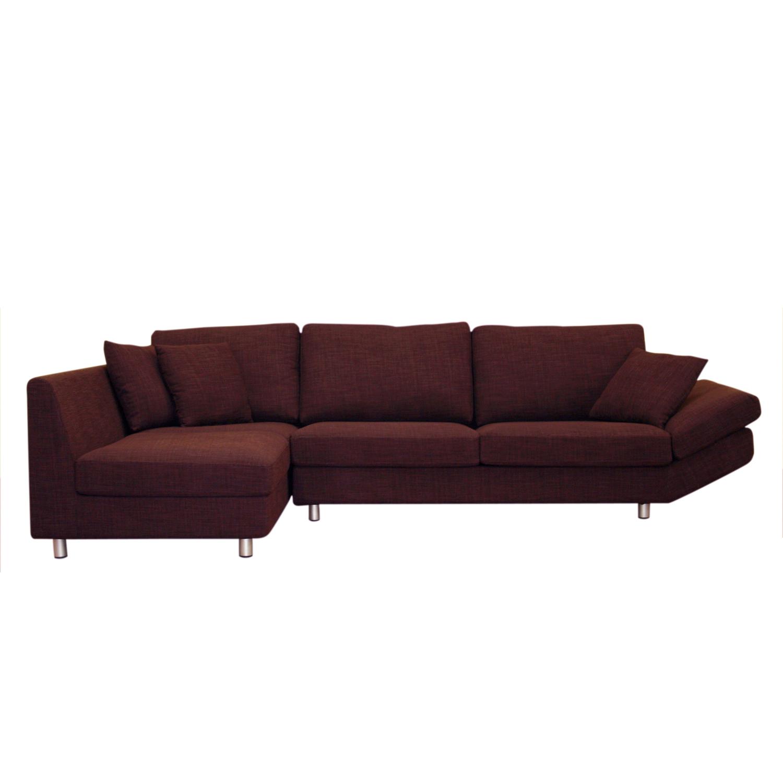 plum leather sofa c shaped singapore natalie deep fabric contemporary sectional