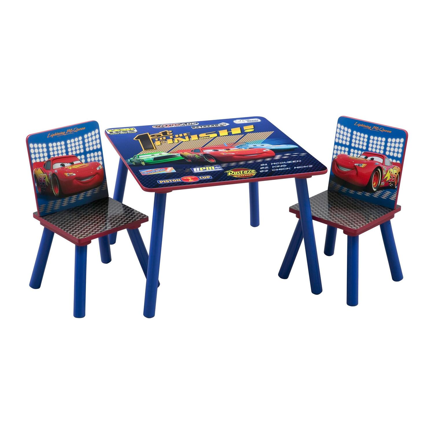disney table and chair set how to sew spandex covers cars square by oj