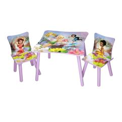 Disney Table And Chair Set Wicker Cushions Clearance Fairies Chairs By Oj Commerce