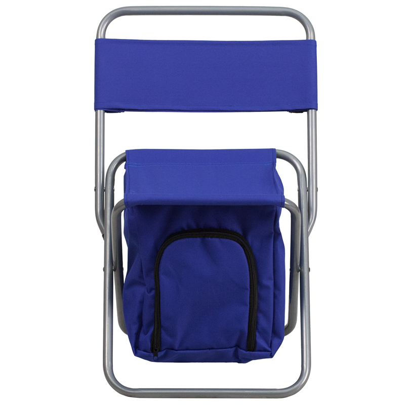 kids folding camp chair memory foam bed flash furniture camping with insulated storage from 18 70 to 97 ojcommerce