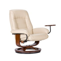 Reclining Chair With Ottoman Leather Cedar Adirondack Chairs Michigan Recliner Bing Images