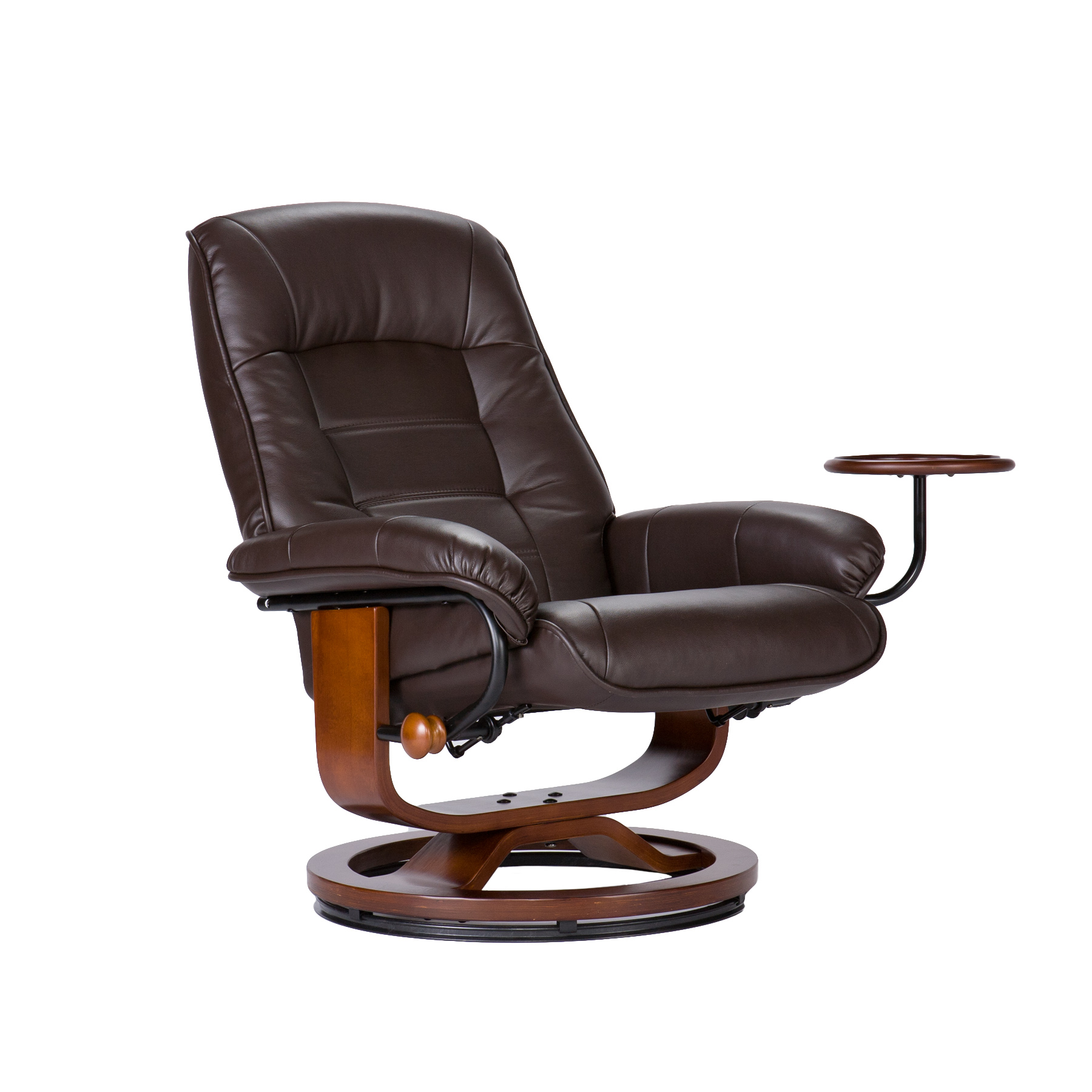reclining chair with ottoman leather feminine office southern enterprises up1303rc recliner and