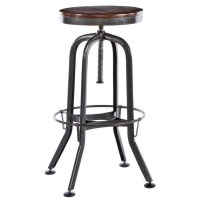 Sitcom Vintage Bar Stool by OJ Commerce VINT00008892 - $211.99