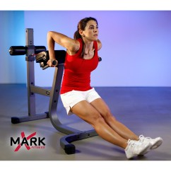 Commercial Gym Roman Chair Folding Replacement Parts Xmark Fitness Xm Ef7610 By Oj