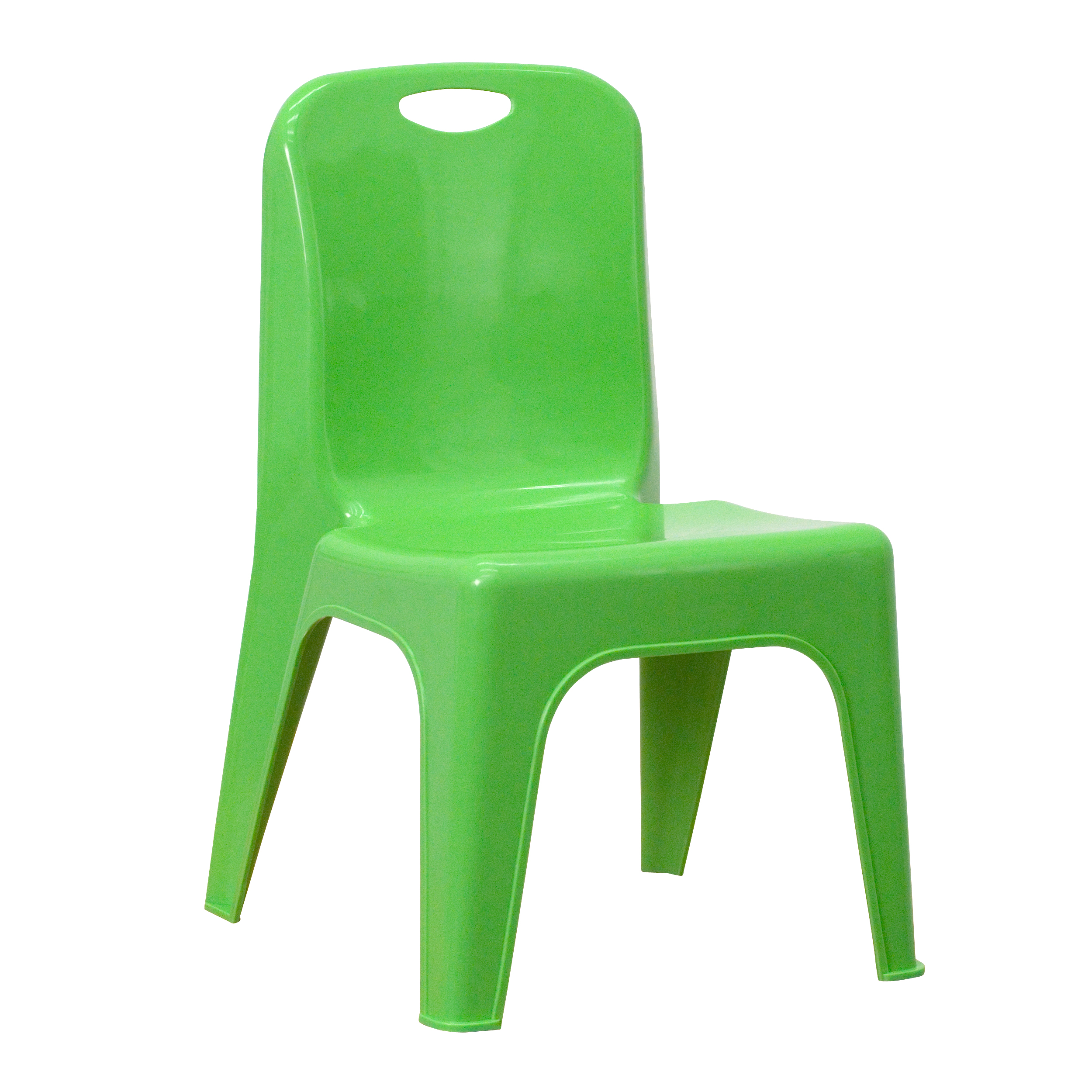 Flash Plastic Stackable School Chair with Carrying Handle