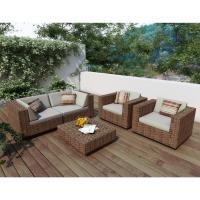 Park Terrace 5 Piece Sofa Patio Set - $2579.00 | OJCommerce